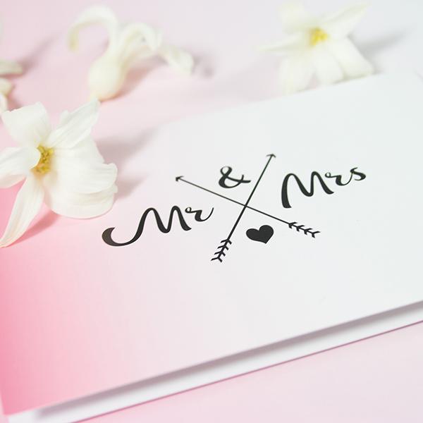 Mini-Grußkarte